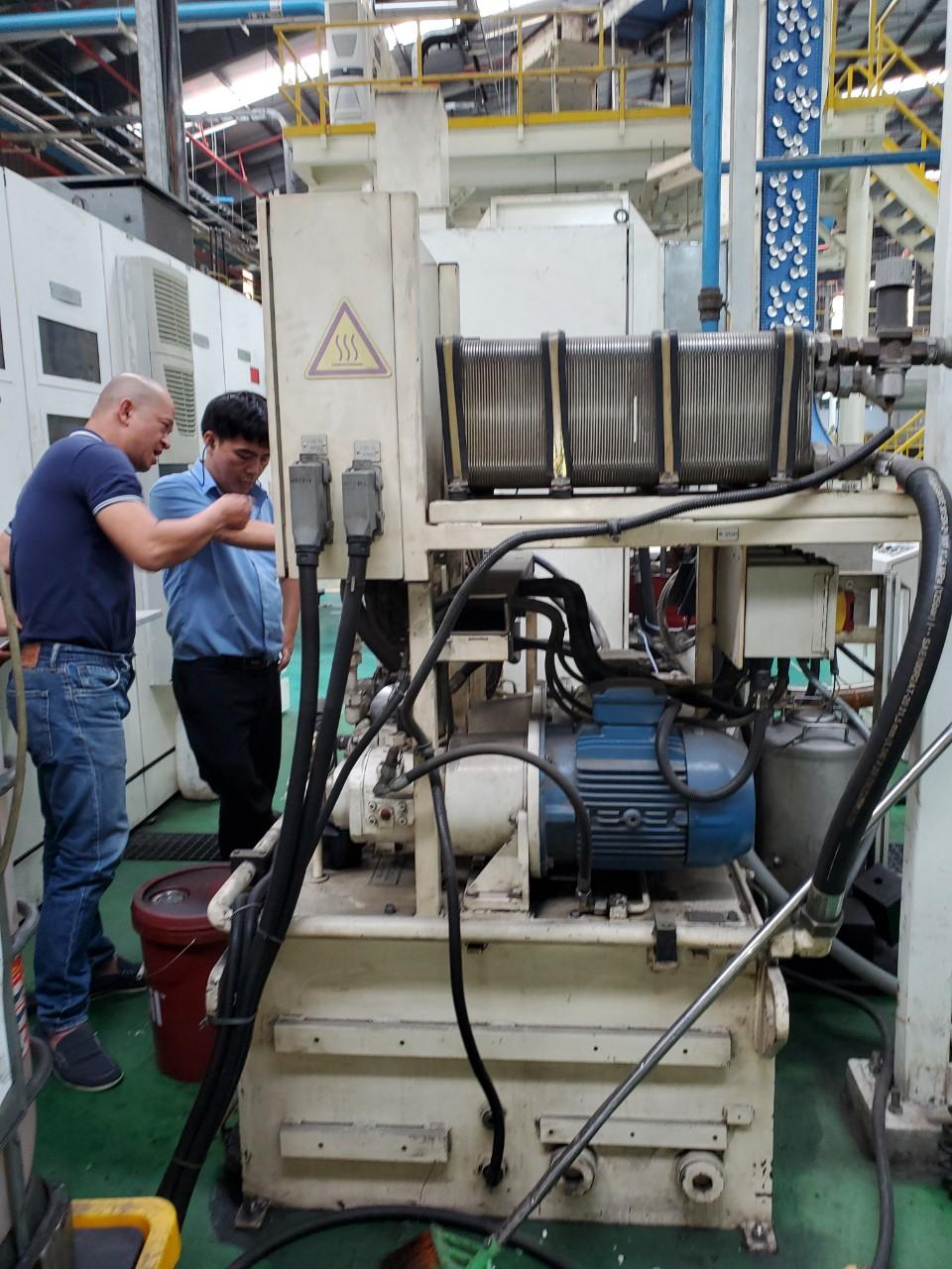 Bảo trì hệ thống thủy lực